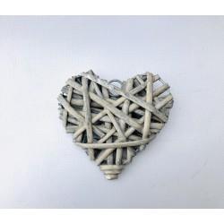 Cœur en bois à suspendre