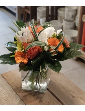 Bouquet rond : Taille S