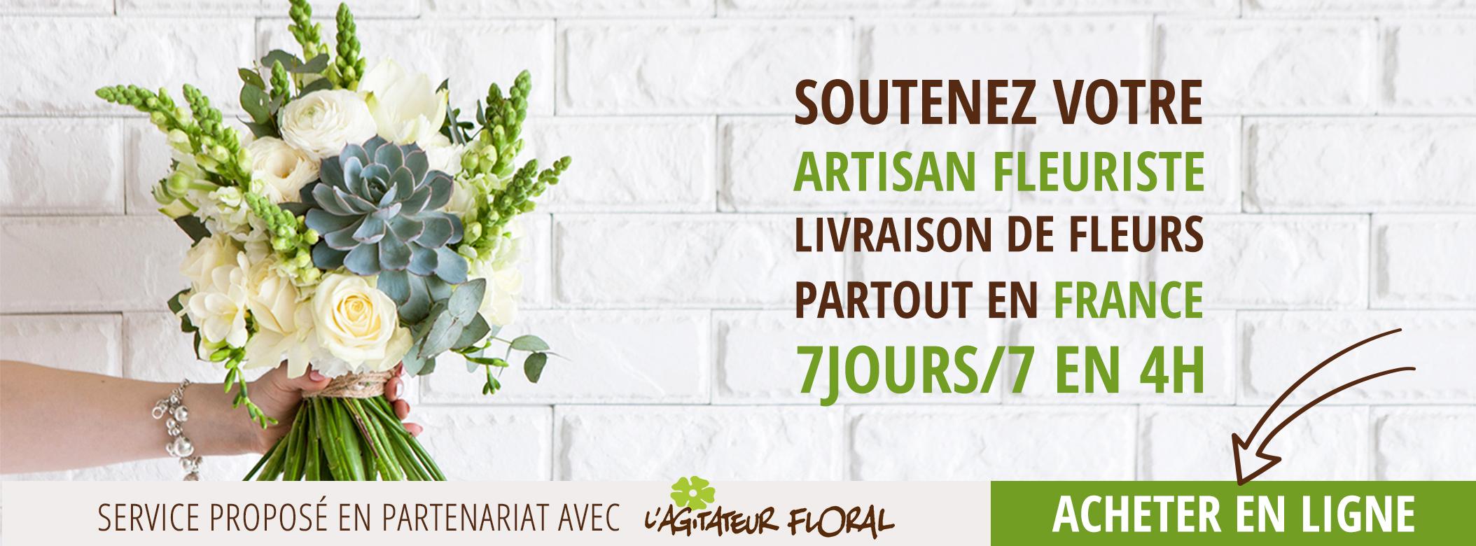 Livraison de fleurs partout en France